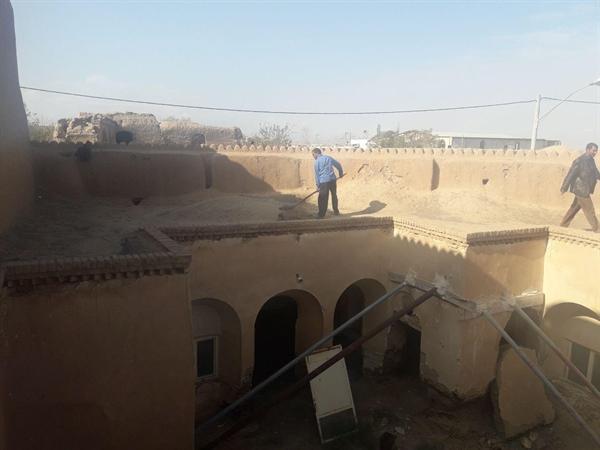 شروع عملیات مرمت خانه تاریخی ایل بیگی در مهاباد اصفهان