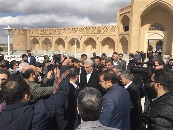 مرحله دوم عملیات ساخت مجتمع گردشگری مهستان اصفهان شروع شد