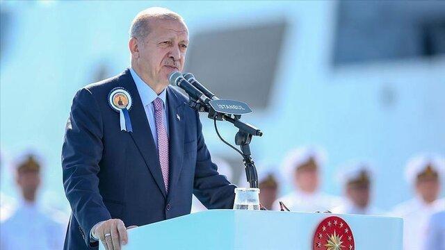 اردوغان: ترکیه یکی از 10 کشور برتر در زمینه صنایع دفاعی است