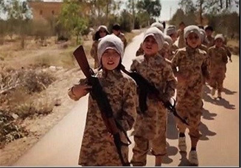 نیروهای آمریکایی صدها کودک داعشی را به اردوگاه نظامی قسد منتقل کردند